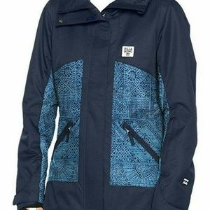 Billabong Coat Winter Ski Snowboarding Full Zip XS